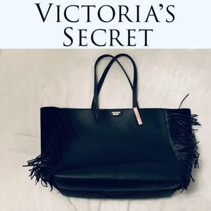 Victoria's Secret BNWT Vegan Leather/Suede Tote